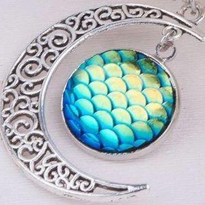 Jewelry - Brand New mermaid moon necklace